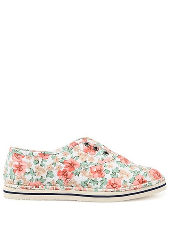 SPUR white and multi Vintage Blossom SP642SH68MAHHK_1