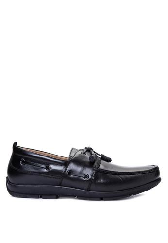 Gibi black Men's Dress Shoes GI342SH13UWWPH_1