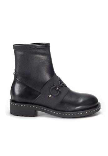 Shu Talk black Amaztep Round Toe Ankle Boots 2E9A7SH4DBF3D1GS_1