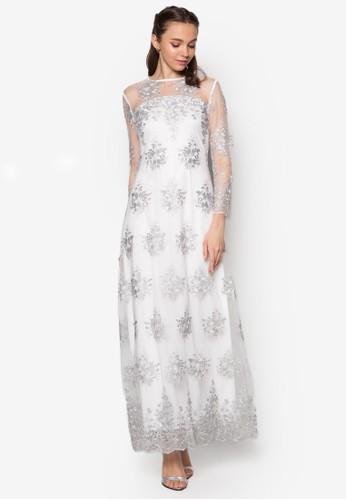 蕾絲A esprit taiwan字長洋裝, 服飾, 服飾