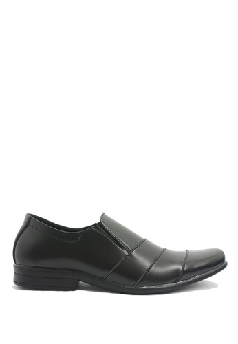 Dr. Kevin black Dr. Kevin Men Dress & Bussiness Formal Shoes 13321 - Black DR982SH0V9D3ID_1