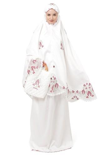 Java Seven Muslimwear white Kamilia Nabita White 42205AAC890855GS_1