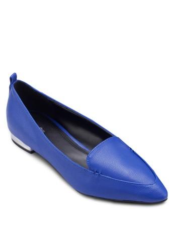 Wenzalora鞋dy 尖頭平底鞋, 女鞋, 懶人鞋
