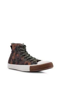 4e4d076eace 37% OFF Converse Chuck Taylor All Star Cordura Hi Sneakers S$ 109.90 NOW S$  69.00 Sizes 8 10 11