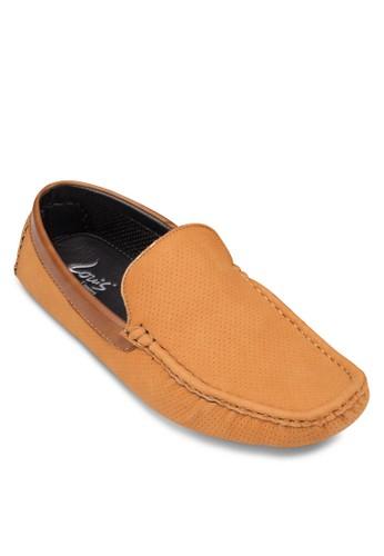 沖孔休閒莫卡辛鞋, 鞋, esprit官網船型鞋