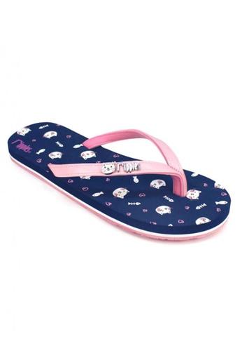 Ripples blue Kittens Flip Flops RI425SH96OPRSG_1