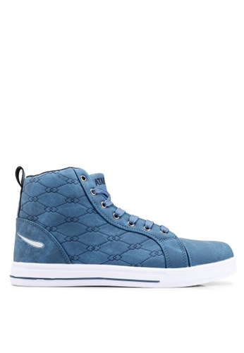 Rocklander blue Matarazo Sneakers 48579SH22B95D4GS_1