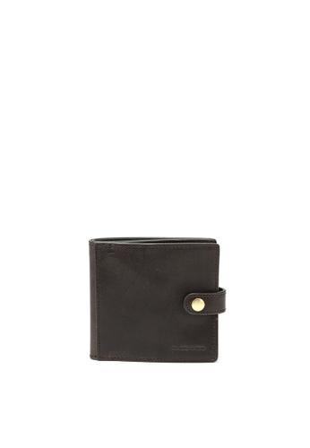 RABEANCO brown RABEANCO Snap Button Wallet - Brown 77BEAACADD5E9CGS_1