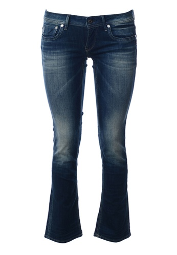 G-Star blue G-Star-Attacc Straight Leg Jeans-Blue 2C270AA4CFD311GS_1