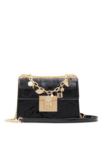 ALDO black Iconicharm Crossbody Bag 16FD6AC01B1AD3GS_1