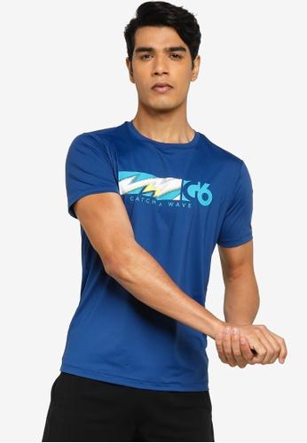 Anta 藍色 Wildwater 短袖T恤 EAB7BAABA8D5CEGS_1