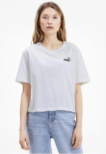 PUMA white Amplified Women's Tee A5B53AA6DC1DB0GS_1