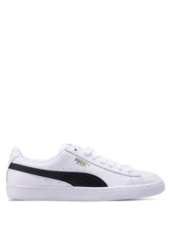 Puma white Prime Basket Classic LFS Shoes 88B02SHE01D88EGS_1