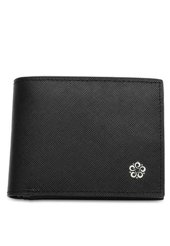 Wild Channel black Men's Genuine Leather RFID Blocking Bi Fold Wallet F67E9ACAF258E9GS_1