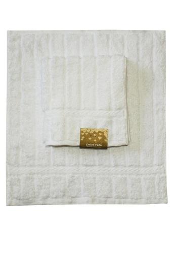Cotton Fields white Cotton Fields Face Towel Stripes 2103BHLC556853GS_1