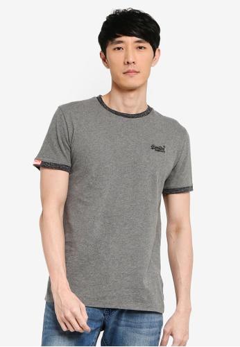 Superdry 灰色 經典T恤 B5CC2AA43524A6GS_1