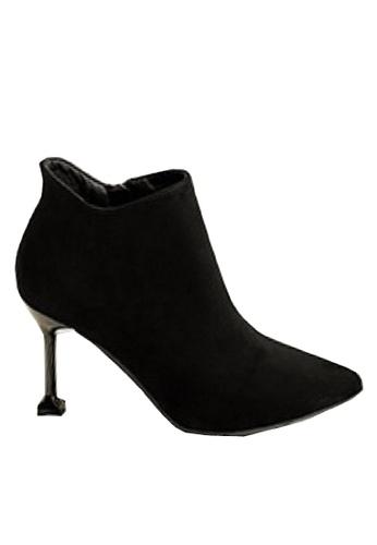 Twenty Eight Shoes 黑色 美好外形羊絨腳眼靴 VB18031 04993SHB9E0882GS_1