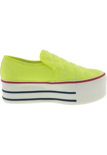Maxstar Maxstar Women's C50 Stitched Platform Canvas Slip On Shoes US Women Size MA168SH74BCJHK_1