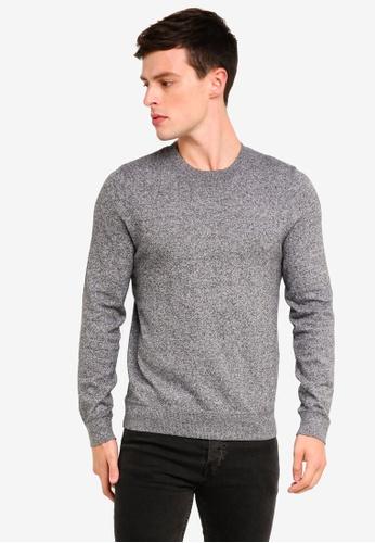 Topman 灰色 混色針織衫 D3BACAA5CA3234GS_1