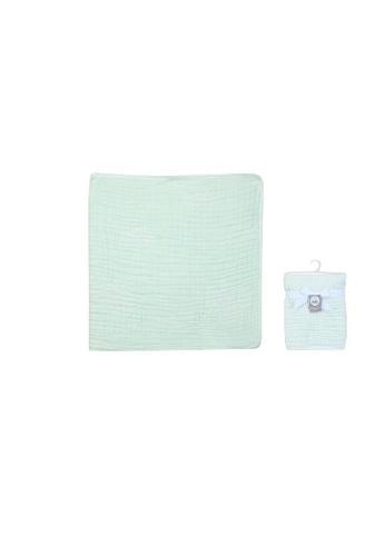 Little Kooma green Baby Muslin Blanket 6 Layers Giraffe Clouds - Green 47858KC83827FEGS_1