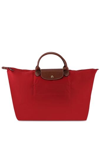 Longchamp red Le Pliage Original Travel Bag L (nt) A0D18AC2A51771GS_1