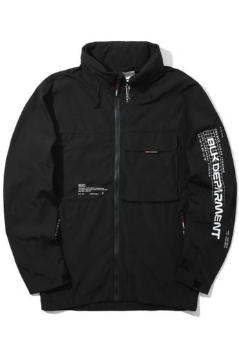 :CHOCOOLATE black Logo zip jacket 0688EAAC19E563GS_1