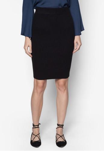羅紋鉛筆裙, 服esprit 京站飾, 服飾