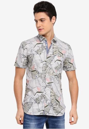 BOSS white Cattitude Shirt - Boss Casual 8FD5CAA60B4120GS_1
