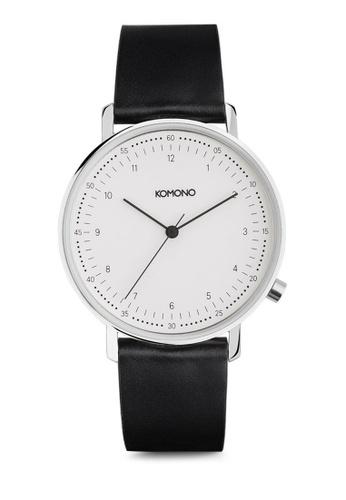 Komono black Lewis - Black KO163AC0T0U4MY_1