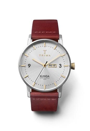 TRIWA silver Gleam Klinga Cognac Classic TR990AC25SUCHK_1