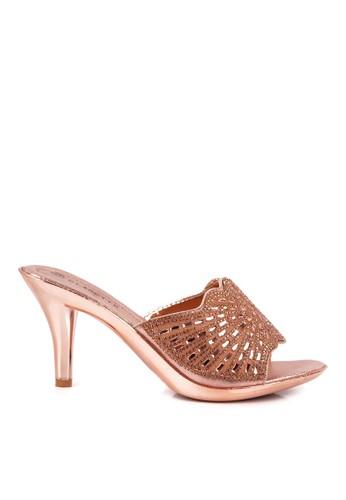 CLARETTE gold Clarette Heels Nancy Gold CL076SH14QLHID_1