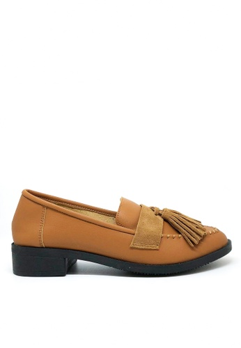Twenty Eight Shoes brown Tassel Loafers 6090-1 20DDDSH5677744GS_1