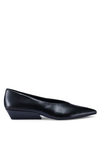 Calvin Klein 黑色 Elehanna 平底鞋 C8A36SH1480940GS_1