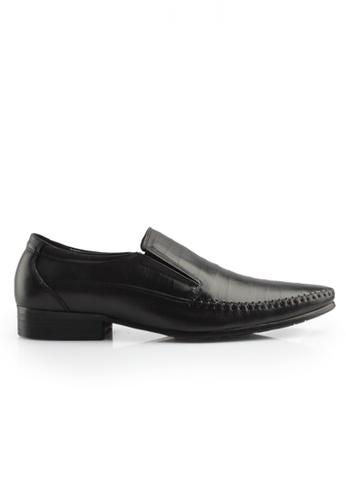 Gino Mariani black Gino Mariani Men's Leather Shoes CARSON  - BLACK 9F946SHA2279F7GS_1