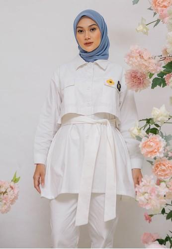 HijabChic white HC x Nada Iris White top 7507CAA8A6E41FGS_1