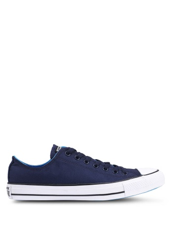 351f0259fae601 Converse navy Chuck Taylor All Star Lightweight Nylon Ox Sneakers  5A229SHB774A65GS 1