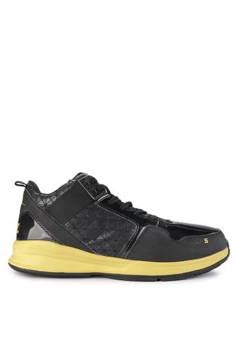Ardiles black Aza5 Basket Shoes 70899SH6025F92GS_1