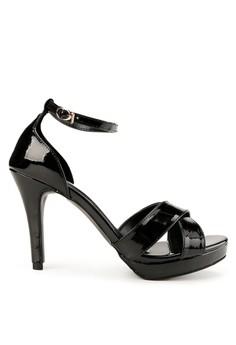 Shoecrime black Valeria Platform Heels FCCFFSHA402A4AGS_1