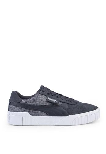 PUMA black Sportstyle Prime/Select Cali Sequin Shoes 5E11ASHC7C8576GS_1