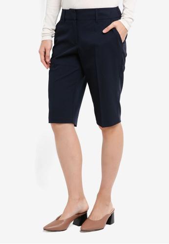 Dorothy Perkins navy Navy Naple Shorts CB372AAA1A8EE2GS_1