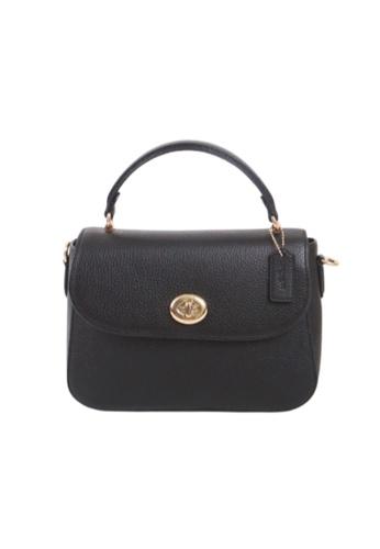 COACH blue Coach Marlie Top Handle C1557 Satchel Bag In Black 7B497ACFF4EC99GS_1