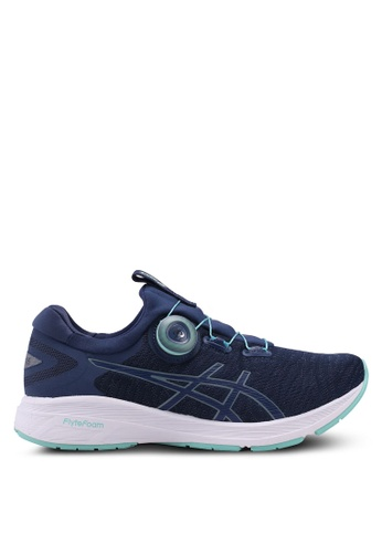 Asics blue and navy Dynamis Shoes AS989SH0SVS0MY_1
