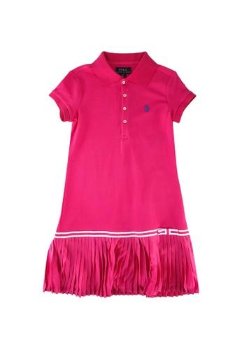 Polo Ralph Lauren pink Short Sleeve Polo Dress F1C54KA3C5CD99GS_1