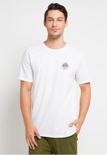 hurley white Premium Bagus Short Sleeve T-Shirt 47BBEAA3EB7427GS_1