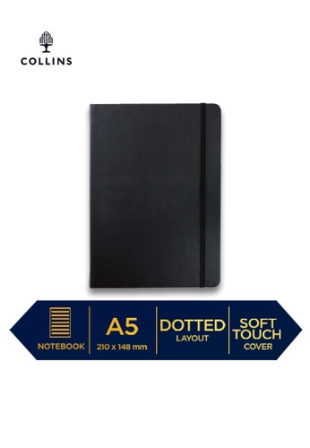 Collins black Collins Legacy  ─  NotebookA5 Dotted Black BC5F1HLD7FDBB8GS_1