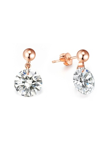 Kings Collection gold Rold Gold Elegant Earrings 5F369ACE56E7A9GS_1