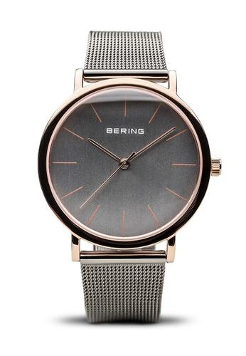 Bering silver Classic 13436-369 Grey 36 mm Women's Watch 026E8AC61DDBEEGS_1