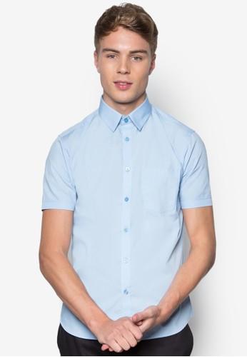基本esprit暢貨中心款棉質短袖襯衫, 服飾, 服飾
