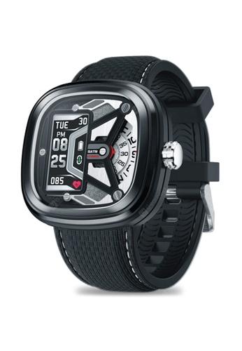 ZEBLAZE Zeblaze Hybrid 2 Smartwatch Heart Rate Blood Pressure 50M Waterproof Exercise Tracking Sleep Tracking Smart Notifications BLACK F2131AC2A14928GS_1