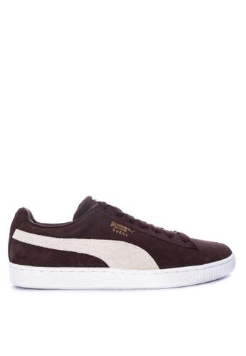 3bd7afa4548 ... Puma black Suede Classic Sneakers C23ADSH3503FBCGS 1 many fashionable  712bb 97967 ...